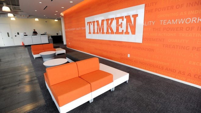 Timken Co. reported a profit in the second quarter of 2020.