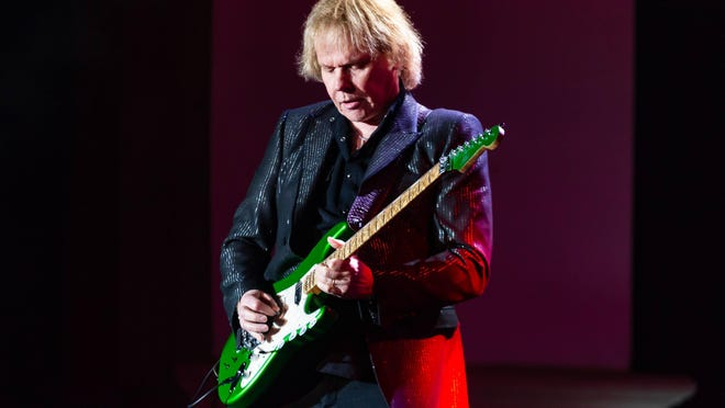 "Styx guitarist James ""J.Y."" Young. {Graham Martin}"