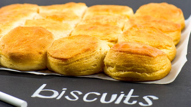 Biscuits can be served with any meal.