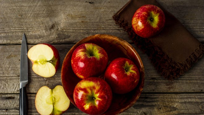 Apples can make a side dish special for the holidays.