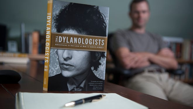 David Kinney authored a  new book about Bob Dylan fans.