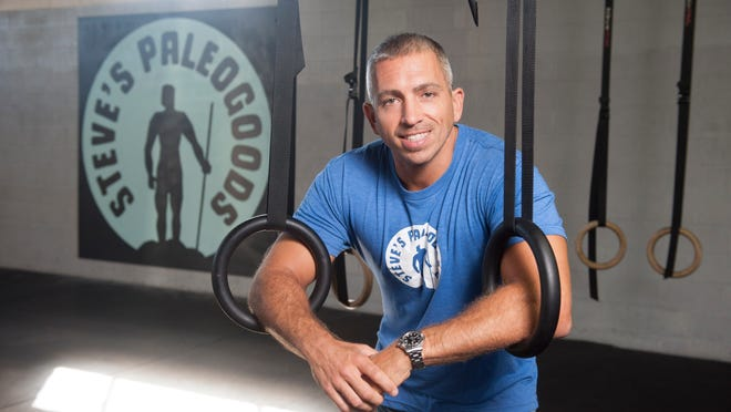 Steve Liberati, owner of Camden's Steve's Club, which offers fitness coaching, nutritional guidance and mentorship to at-risk youth. Monday, September 22, 2014.
