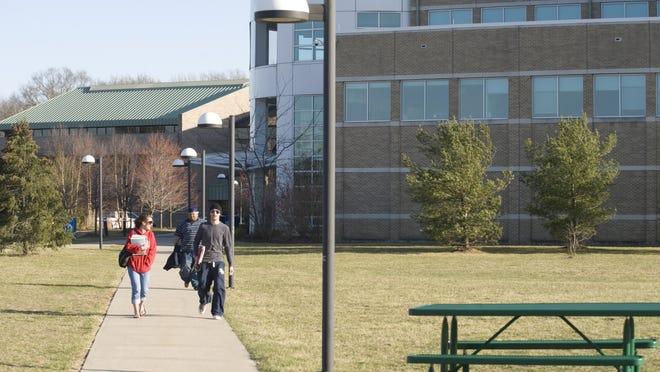 Burlington County College's main campus in Pemberton Township