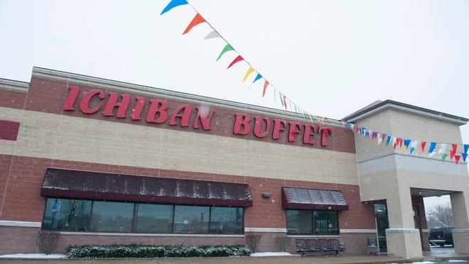 Ichiban Buffett in Chery Hill for storefront. Wednesday, January 7, 2014.