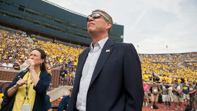 UM athletic director Dave Brandon has been under increased scrutiny in the wake of the football team's struggles and how a concussion was handled.