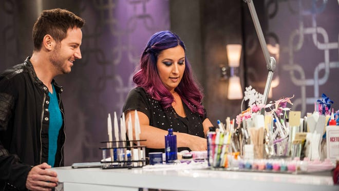 """Ashley Craig is competing on the Oxygen Network show """"Nail'd It."""" The Fort Myers nail artist works at Cape Coral studio ProFiles."""