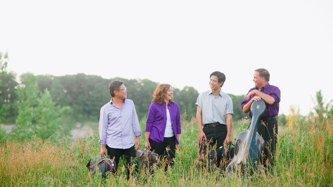 The Miami String Quartet will serve as artists-in-residence this week at Furman University.