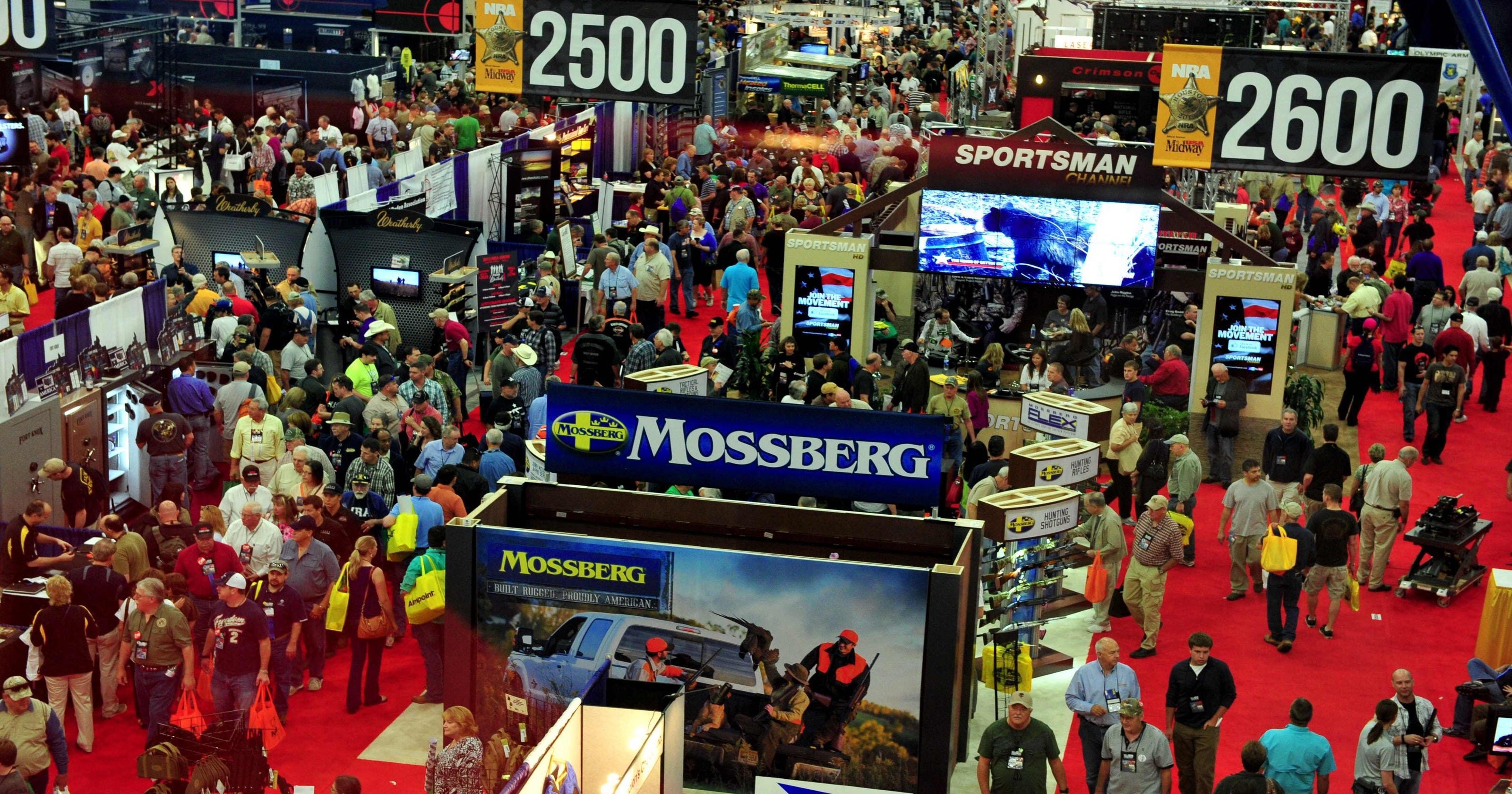 NRA convention calendar of events