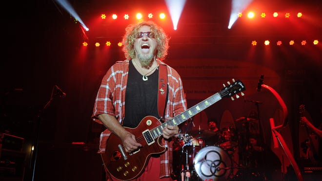 Sammy Hagar will perform on May 23 at Indianapolis Motor Speedway.