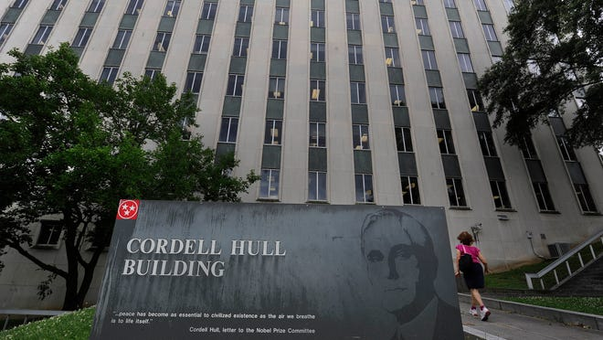The Cordell Hull office building