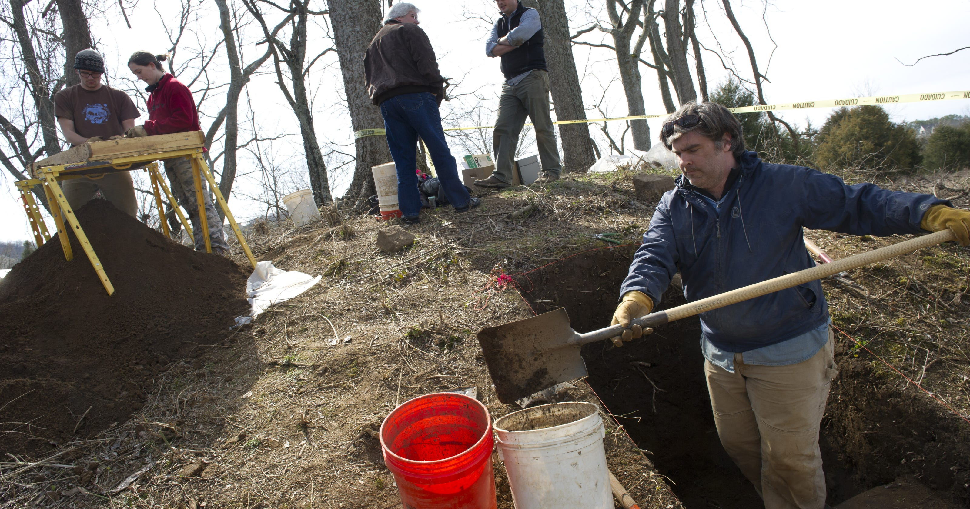 Ancient burial mounds get state historical marker