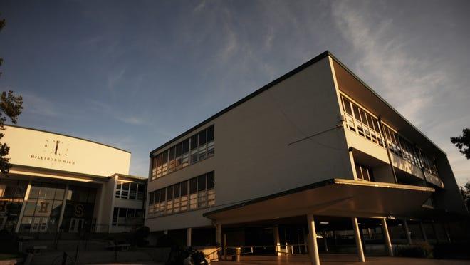 Hillsboro High School, built in 1954, is undergoing a renovation.