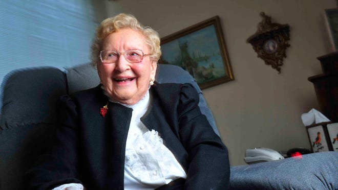 Louise Baird Short, who will turn 109 years old on Saturday, lives in McKendree Village. Her late husband, a Methodist bishop, helped find the land where the retirement community was built.