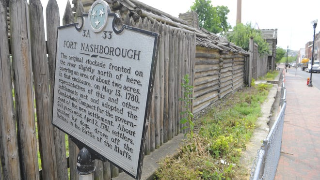 Construction on a $100 million flood wall and protection system has altered the demolition and reconstruction timeline of the Fort Nashborough historic visitors site.