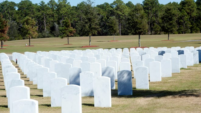 Barrancas National Cemetery.