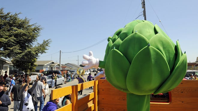 The Artichoke Festival is back on for this year.