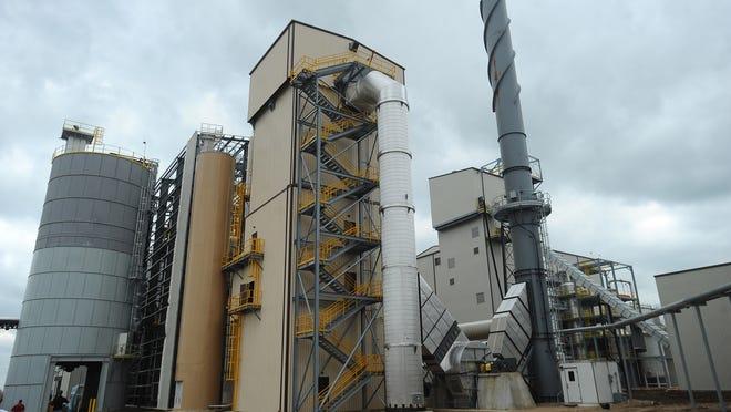 The Poet-DSM Advanced Biofuels' Project Liberty cellulosic ethanol plant in Emmetsburg, Iowa.