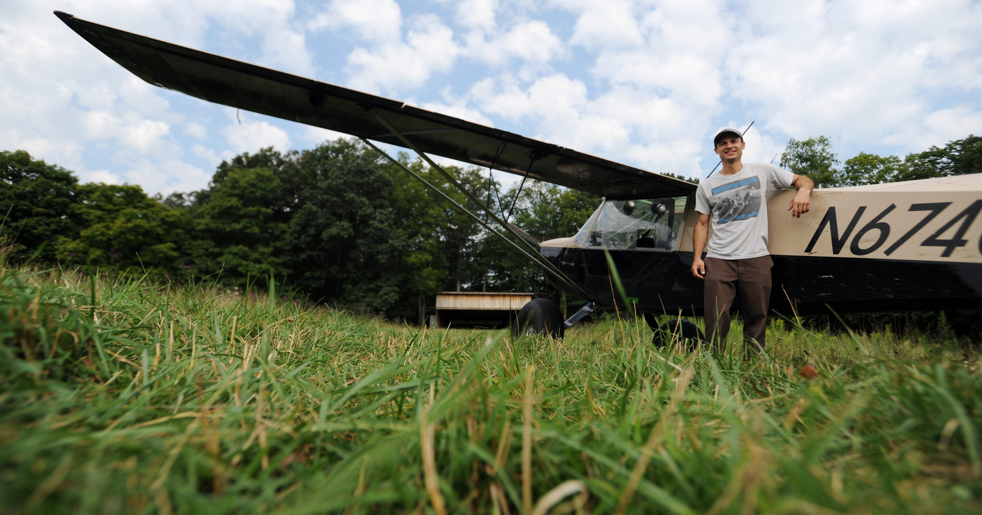 detailed look f4e2c 5ee8a Philo resident builds plane, then learns to fly