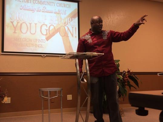 Pastor Charles Johnson