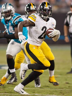 Le'Veon Bell and the Steelers shredded the Panthers for 264 rushing yards.