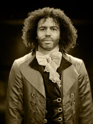 """A portrait of Daveed Diggs will be on display at The Public Theater as part of  """"My Shot: Portraits from Hamilton."""""""