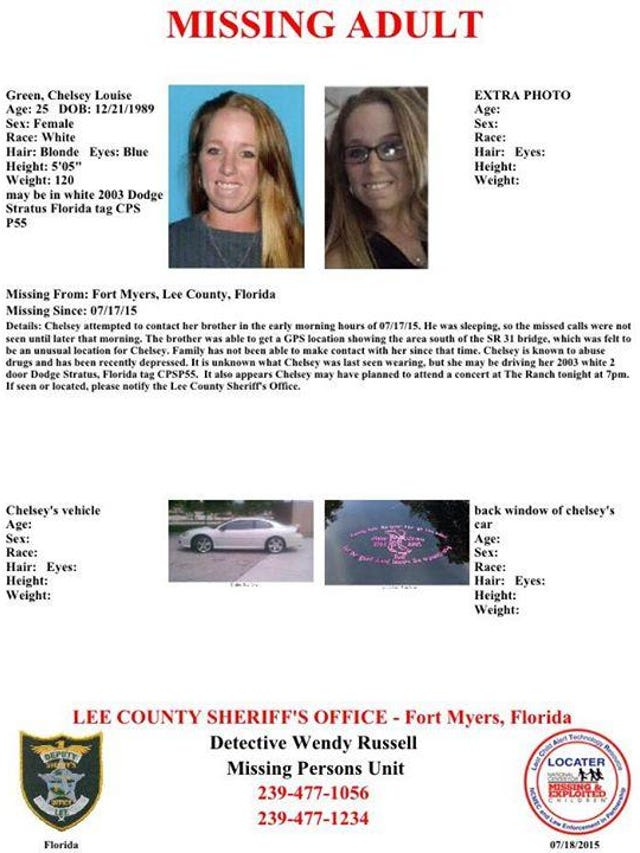 New Lee Sheriff's Facebook page lists missing persons
