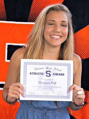Former Summit High School softball player Morgan Fell has died.