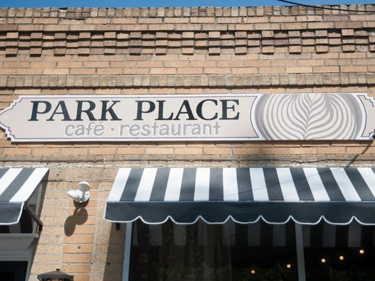 Exterior of Park Place Café & Restaurant in Merchantville. The cafe, on Park Avenue, is named for the chef/owner's favorite Monopoly card.
