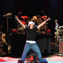 Kid Rock closes the Iowa State Fair with a (mostly) politics-free party