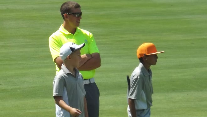 Ryan Evans coached the Southern Tier PGA Junior Golf team players as part of the state All-Star tournament.