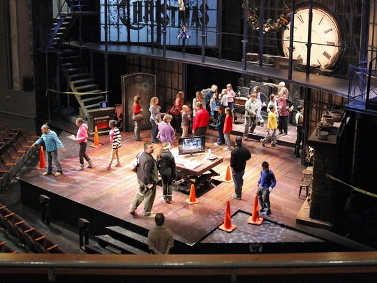 "A 2013 file photo of Geva Theatre Center during ""A Christmas Carol."""