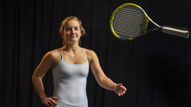 All-Shore Girls Tennis Player of the Year Kate Fahey, Rumon-Fair Haven