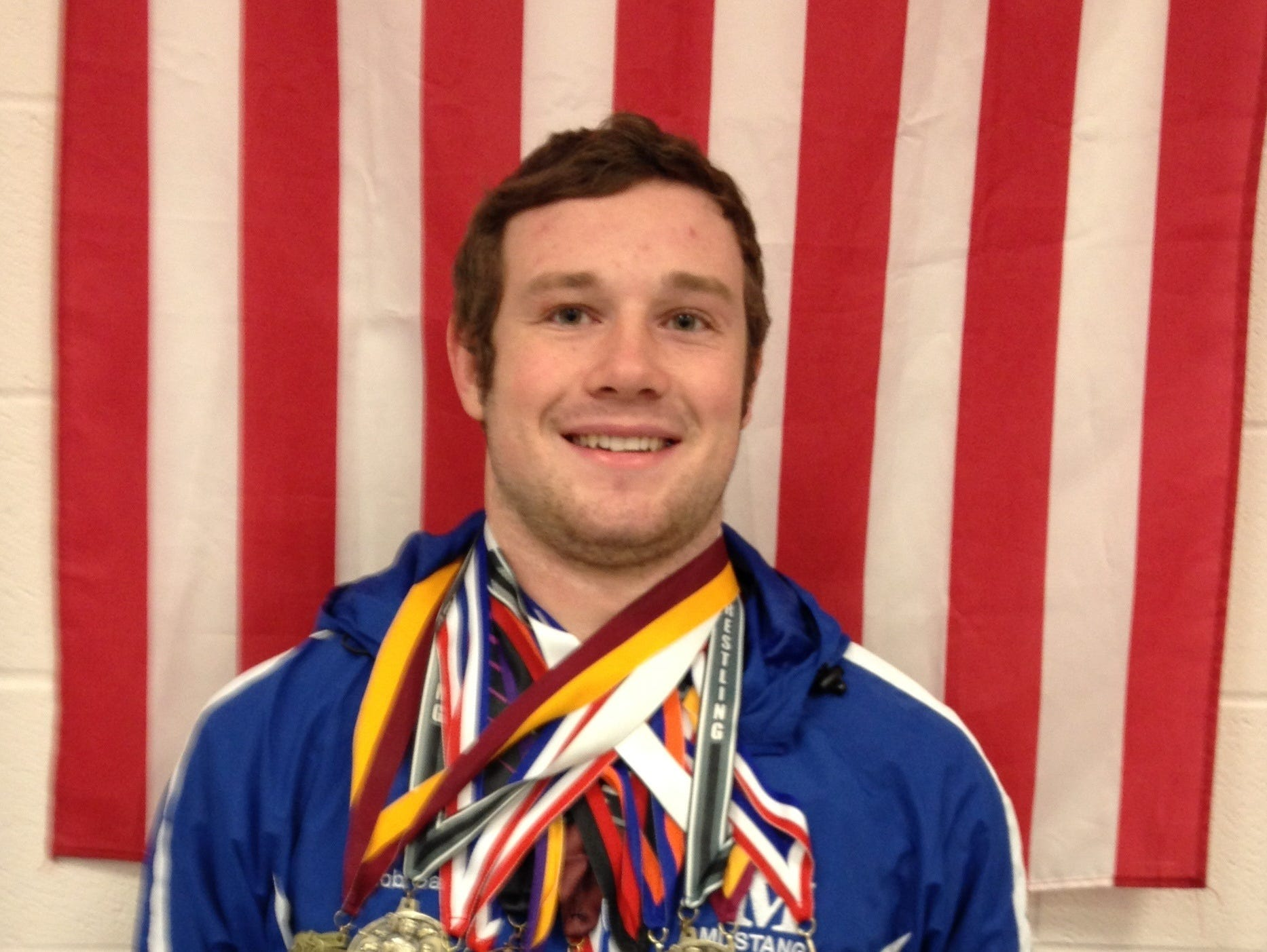 Recent Smoky Mountain graduate Jacob Gass has signed to wrestle in college for Truett-McConnell (Ga.).