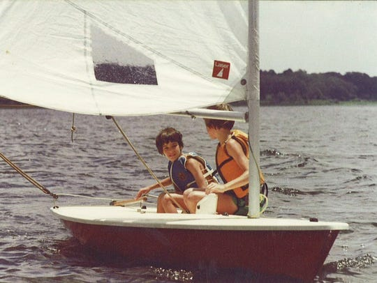 There are several good boat launches for sailing on