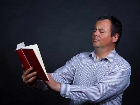 Usually after age 40, people begin to notice that they have problems reading or looking at objects that are close to their face.