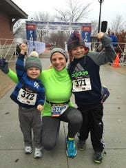 Stephanie Nottling likes to include her sons with her
