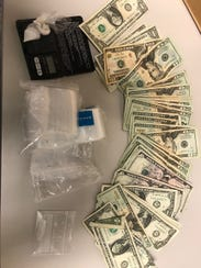 Simi Valley police said they seized methamphetamine