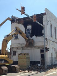 COFO Bldg. Meridian being demolished.jpg