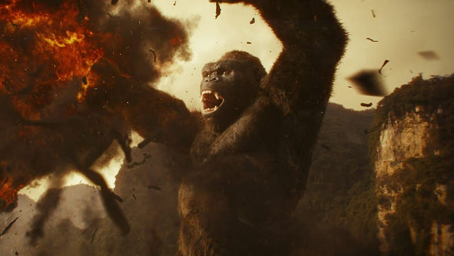 Kong roars to updated life in 'Kong: Skull Island.'