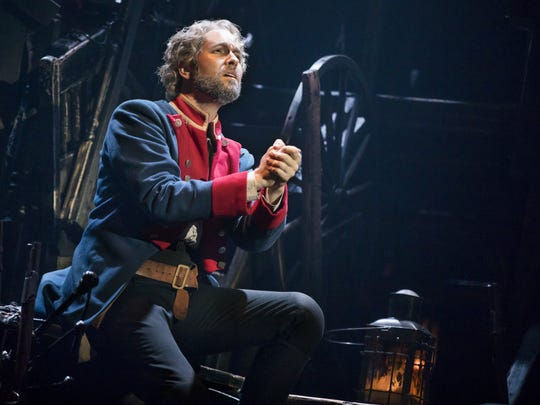 "Nick Cartell has been in the lead role of Jean Valjean in ""Les Miserables"" since September."