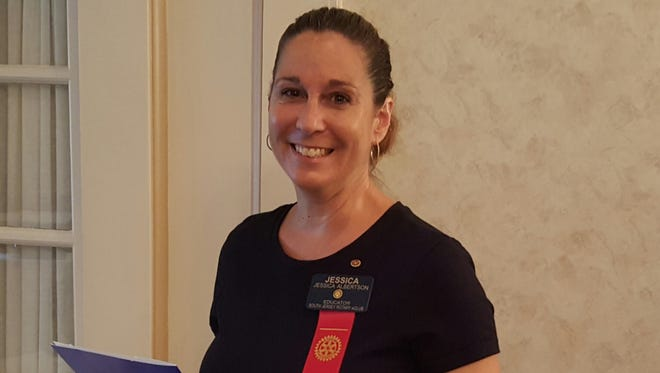 Jessica Albertson was recently inducted into the Tri-County Community Rotary Group.