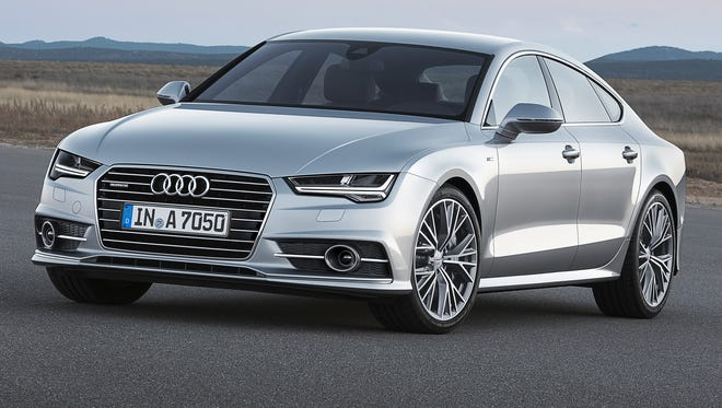 Audi has slightly reshaped the A7.