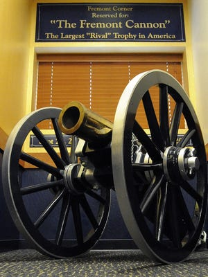 The Fremont Cannon.