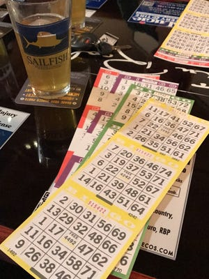 """""""Bingo for a Cause"""" is at 7 p.m. every Thursday at The Tin Roof Bar & Grill at 5701 Orange Ave. in Fort Pierce."""