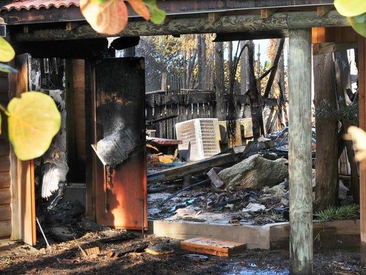 Pumpkin Center fire aftermath