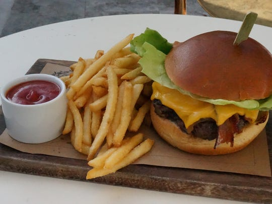 The burger from The Continental in Naples.
