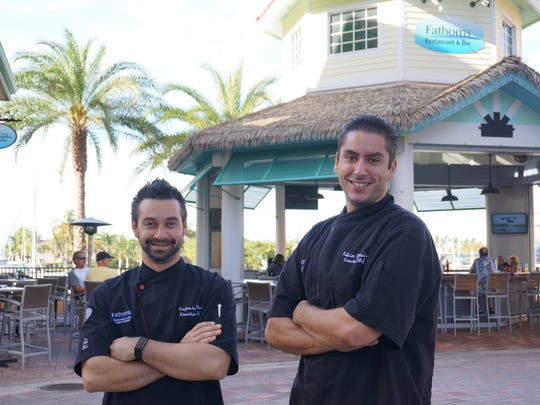Chef/Owner Ben Voisin and Executive Chef Fabrice Deletrain are a dynamic French duo in the kitchen at Fathoms.