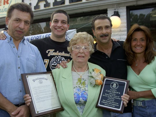 Ida Castrainni (center), the co-owner of the original