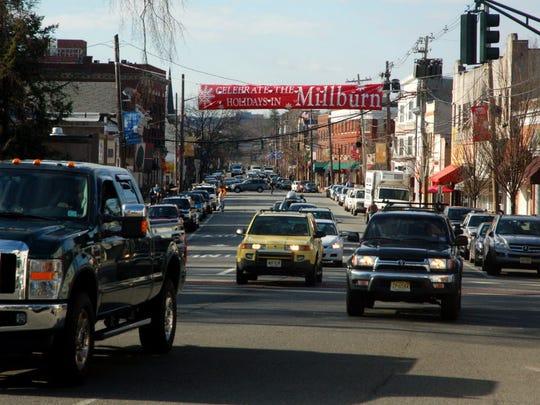 Millburn Avenue in downtown Millburn.