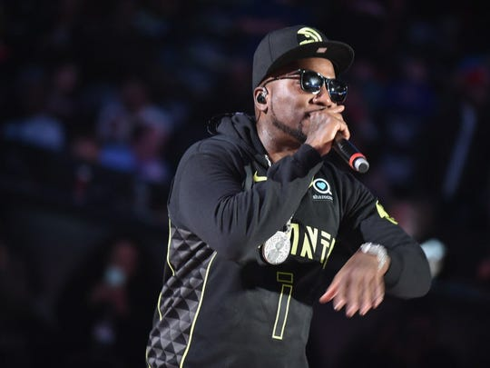 Jeezy performs at the Rave Feb. 22.